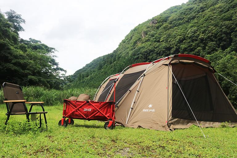 キャンプ日和