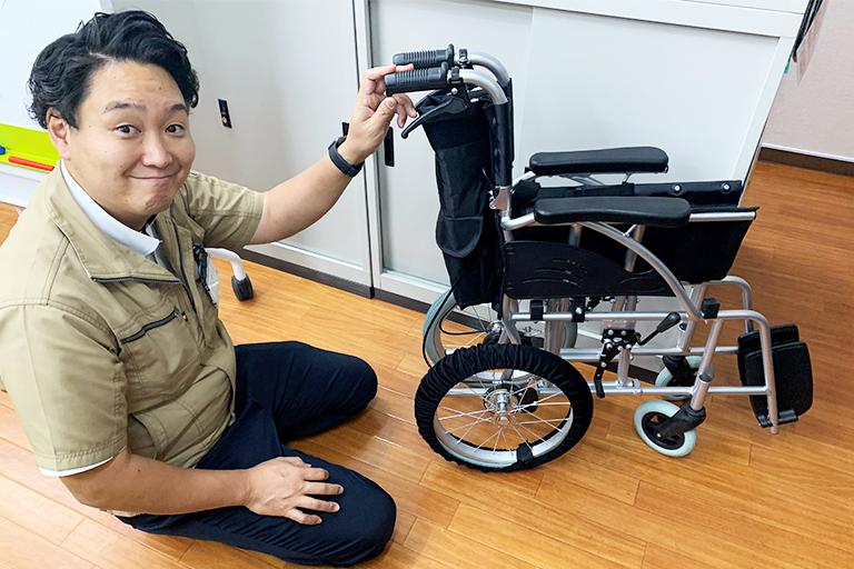 TORICO 車椅子タイヤカバー